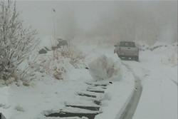 کولاک در برخی از جاده های زنجان حاکم است