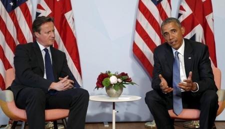 """أوباما وكاميرون بحثا هاتفياً سبل مكافحة """"داعش"""""""