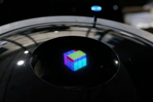 ساخت هولوگرام سه بعدی برای اولین بار در جهان