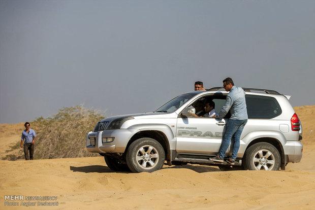 Auto racing in Qeshm