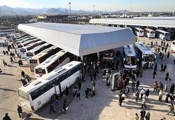 ۴۰۰ هزار مسافر با ناوگان حمل و نقل عمومی به خراسان رضوی سفر کردند