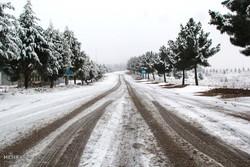 Blanket of snow covers Bojnourd