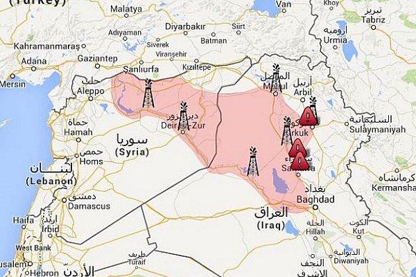 نقشه عراق