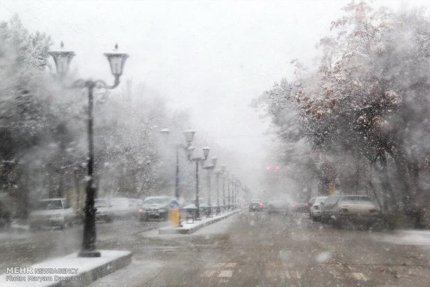 Blanket of snow covers Bojnurd