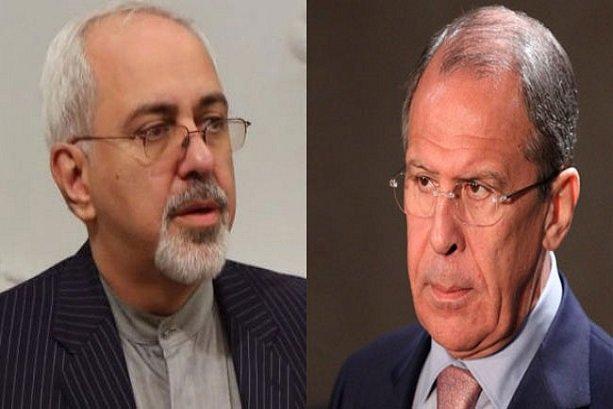 Zarif, Lavrov discuss latest regional developments