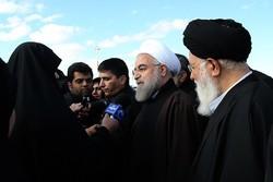 Rouhani in Khorasan Razavi