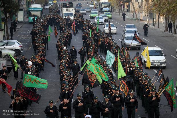 مراسم عزاداری نیروهای مسلح به مناسبت سالروز رحلت پیامبر اکرم (ص) و امام حسن مجتبی (ع)