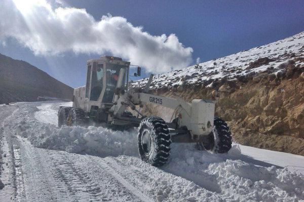 برف و کولاک - برف روبی - امدادرسانی - جاده - راهداری