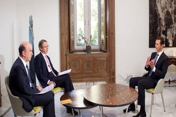 بشار  الأسد : الولايات المتحدة وفرت منذ البداية الغطاء السياسي للإرهاب في سوريا