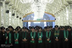 حضرت امام رضا (ع) کی شہادت کی مناسبت سے خطبہ خوانی کی تقریب