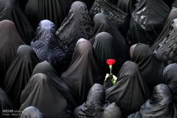 تشییع پیکر هشت شهید گمنام دفاع مقدس - 1