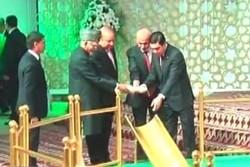 ترکمنستان میں چار ممالک نے تاپی گیس منصوبےکا سنگ بنیاد رکھ دیا