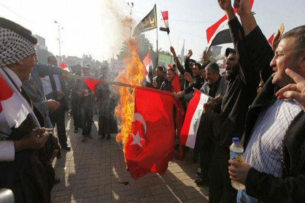 ادامه اعتراضات ضد ترکیه از روسیه تا عراق