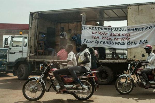جمهوری آفریقای مرکزی همه پرسی تغییر قانون اساسی برگزار می کند