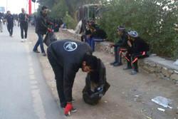 خدماترسانی شهرداری قم به زائرین اربعین در مسیر نجف به کربلا