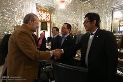 دیدار هیئت اندونزی با رئیس مجلس