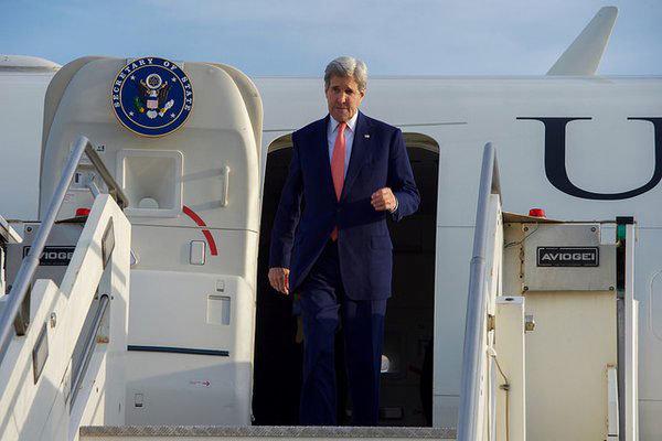 مفاوضات كيري ونظيره السعودي حول ايران
