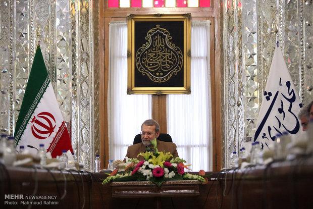 Larijani, Indonesian delegation meet in Tehran