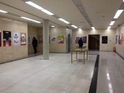 نمایشگاه پوستر هفته گرافیک در یزد گشایش یافت
