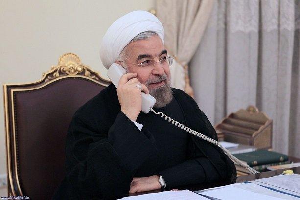 Ruhani Katar Emiri ile telefonda görüştü