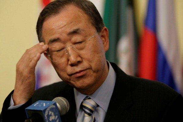 بان كي مون يعتبر استخدام القنابل العنقودية في اليمن جريمة حرب