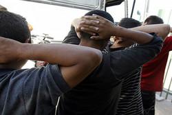 ۲۷۶ عابر غیرمجاز در مرز بازرگان دستگیر شد