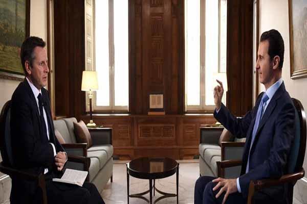 بشار الاسد : الشعب السوري وحده فقط يحدد من يبقى أو لا وأي كلام مخالف لا نكترث له