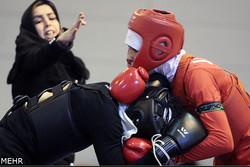 مسابقات قهرمانی ووشوی بانوان کشور در ساوه پایان یافت