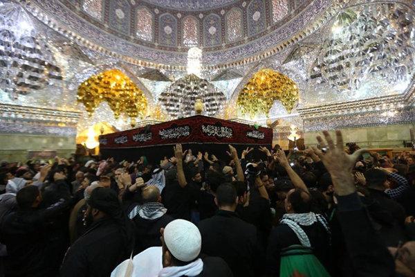 خمسة ملايين زائر يحييون ذكرى استشهاد الإمام الحسن العسكري (ع) في سامراء