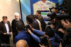 ثبت نام رئیس جمهور در انتخابات خبرگان