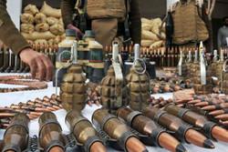 """العثور على 1.5 طن من المتفجرات داخل مخابئ مايسمى """"جيش الإسلام"""" في دوما"""