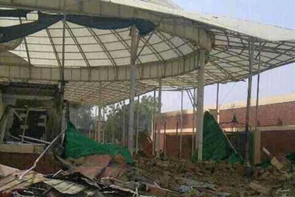 تخریب حسینیه بقیة الله در زاریا نیجریه توسط ارتش