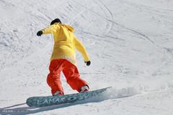 Opening of Hamedan Intl. Ski Resort
