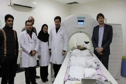 CT-Scans performed on Iranian 'Saltmummies'