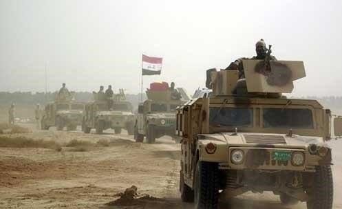 القوات العراقية تتقدم باتجاه الفلوجة من 4 محاور