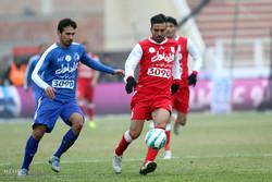 شريط مصور عن مباراة استقلال طهران وتراكتور سازي تبريز