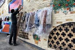 دیوار مهربانی در کرمانشاه