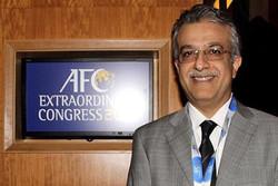الشيخ سلمان يشيد  بانجاز ايران التاريخي في بطولة العالم لكرة الصالات