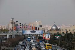 وضعیت قرمز آلودگی هوای تهران