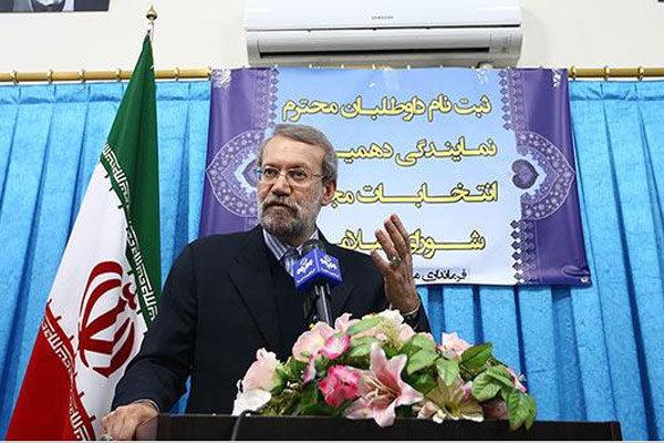 لاریجانی: مستقل وارد انتخابات شدهام