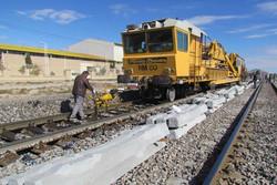 راه آهن شمال شرق - خطوط ریلی - بازسازی ریل