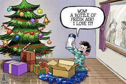 برترین کاریکاتورها؛ جشن کریسمس ۲۰۱۶