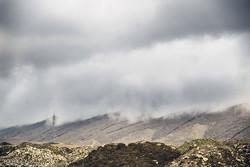 بارش باران زمستانی در شهرستان لارستان استان فارس