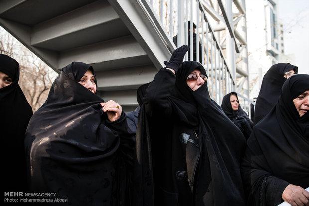 تشییع شهید مدافع حرم