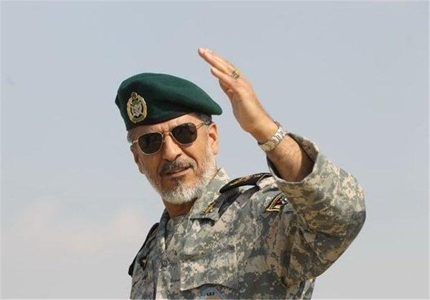 سياري : القوات البحرية الايرانية لن تسمح بالاعتداء على حدود ايران البحرية