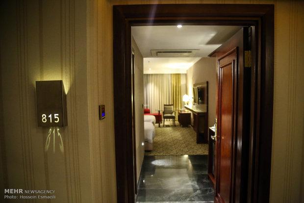 افتتاح هتل اسپیناس پالاس بزرگترین هتل ایران با حضور اسحاق جهانگیری معاون اول رئیس جمهور