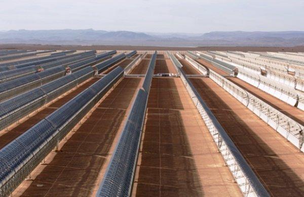 بزرگترین نیروگاه برق خورشید جهان