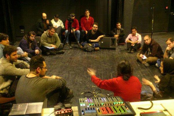 کارگاه ۳ روزه صدا با هدف ارتقای بخش فنی تئاتر برگزار شد