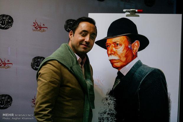1953514 - عکس های مراسم بزرگداشت علی نصیریان با حضور هنرمندان و خوانندگان و ...