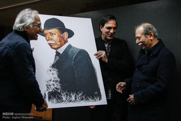 1953524 - عکس های مراسم بزرگداشت علی نصیریان با حضور هنرمندان و خوانندگان و ...